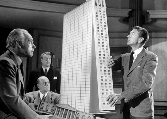 A still from The Fountainhead. Howard Roark was not the world's greatest team player. The LSA believes today architects should collaborate more