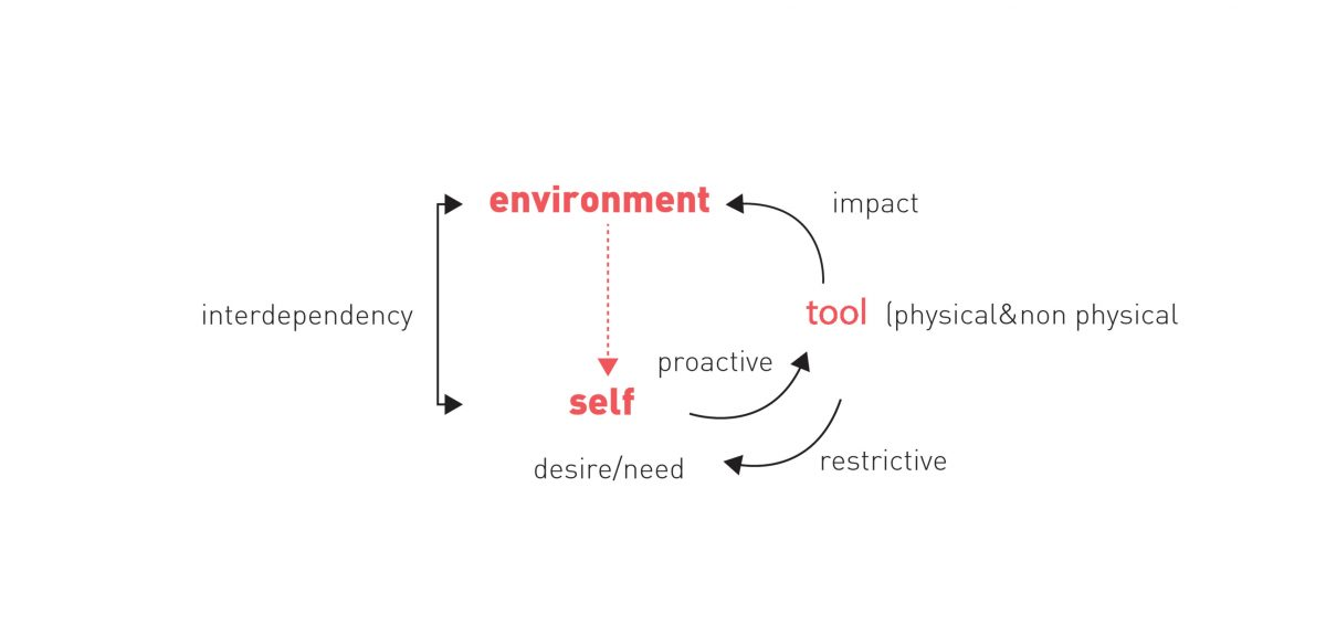 Tool-Environment Cycle Diagram