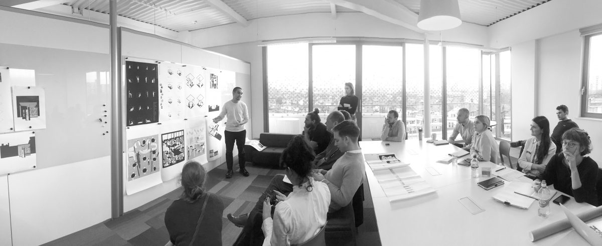 Design review of Second Year projects at Scott Brownrigg